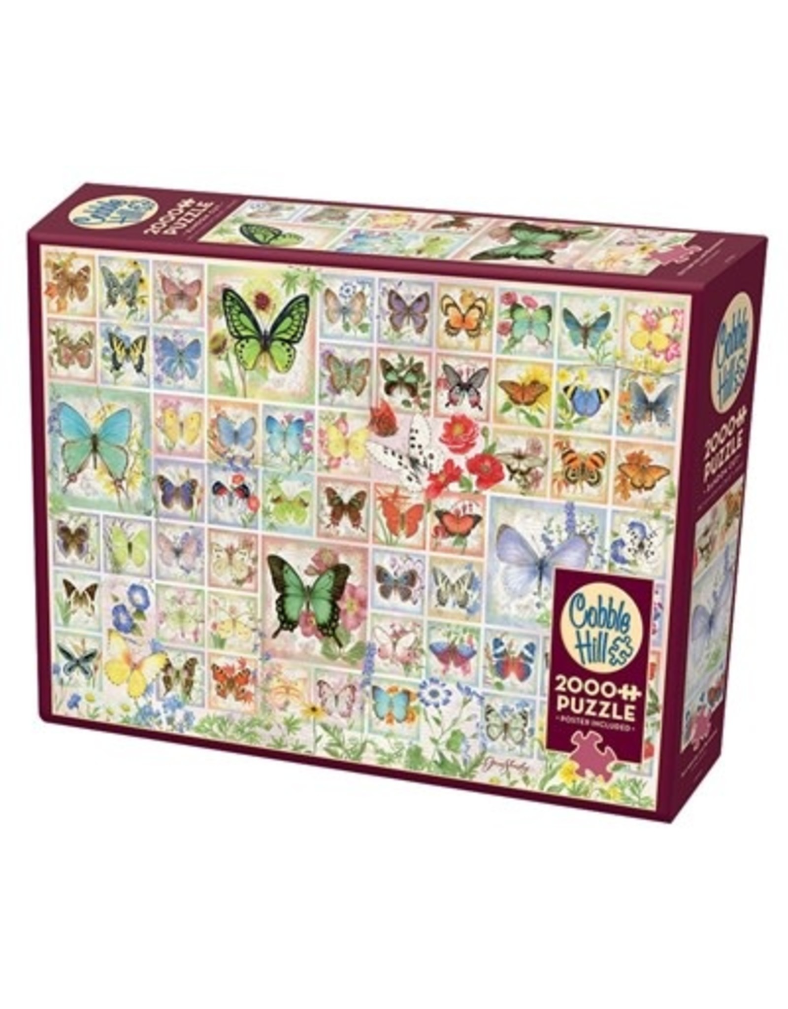 Cobble Hill Butterflies and Blossoms 2000 pc