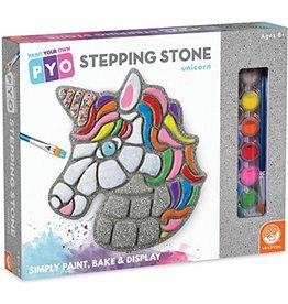 Mindware Paint-Your-Own Stepping Stone: Unicorn