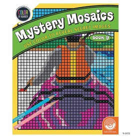 Mindware Mystery Mosaics Color By Number: Book 9