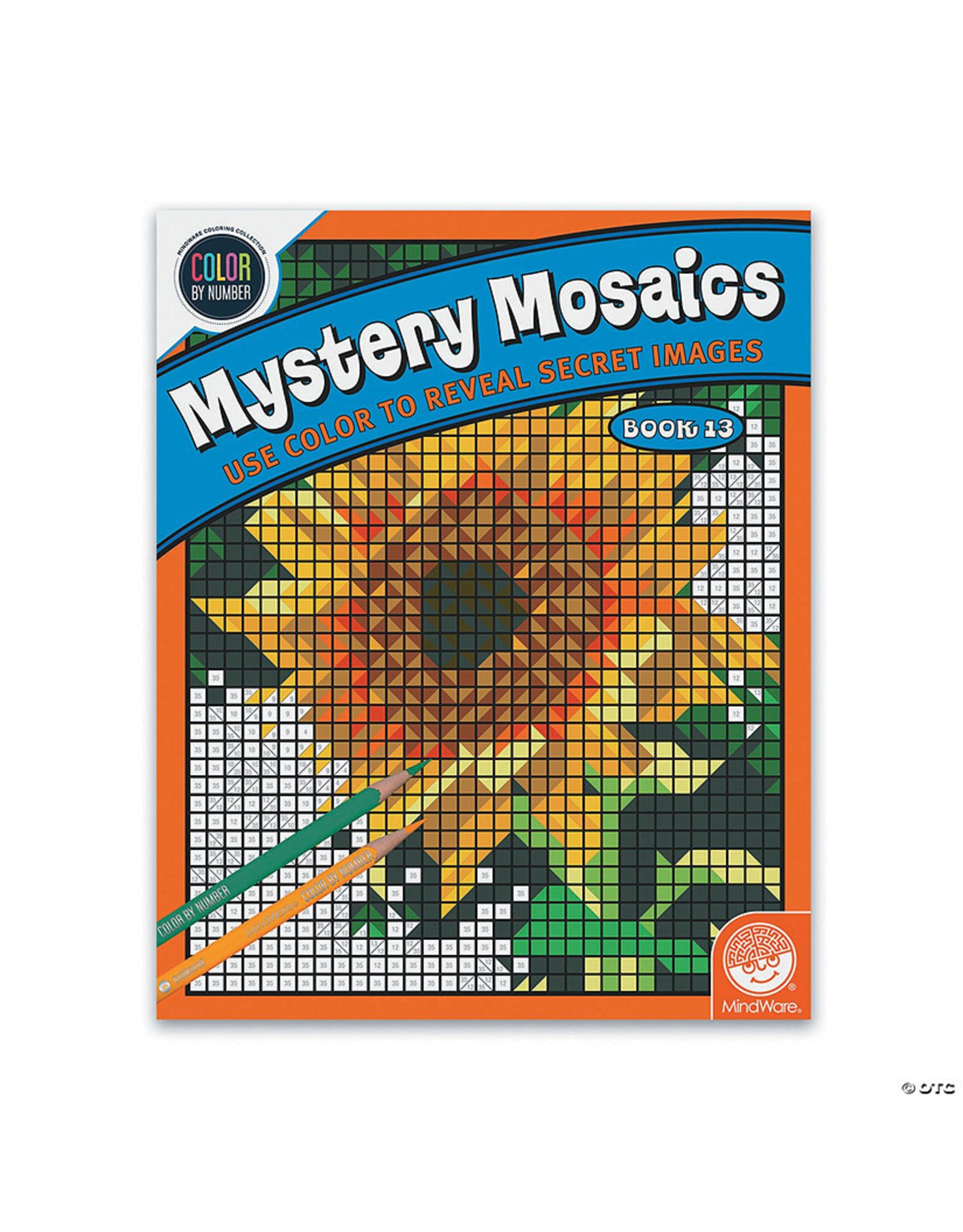 Mindware CBN Mystery Mosaics: Book 13