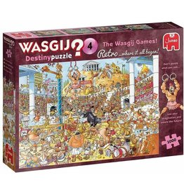 Jumbo Wasgij Retro Destiny #4/ Olympic Odyssey 1000 pc