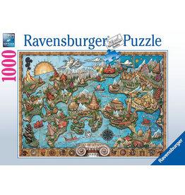 Ravensburger Mysterious Atlantis 1000 pc