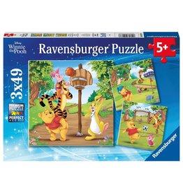 Ravensburger Sports Day (Pooh) 3x49pc