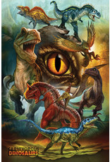 Eurographics Carnivorous Dinosaurs - Poster