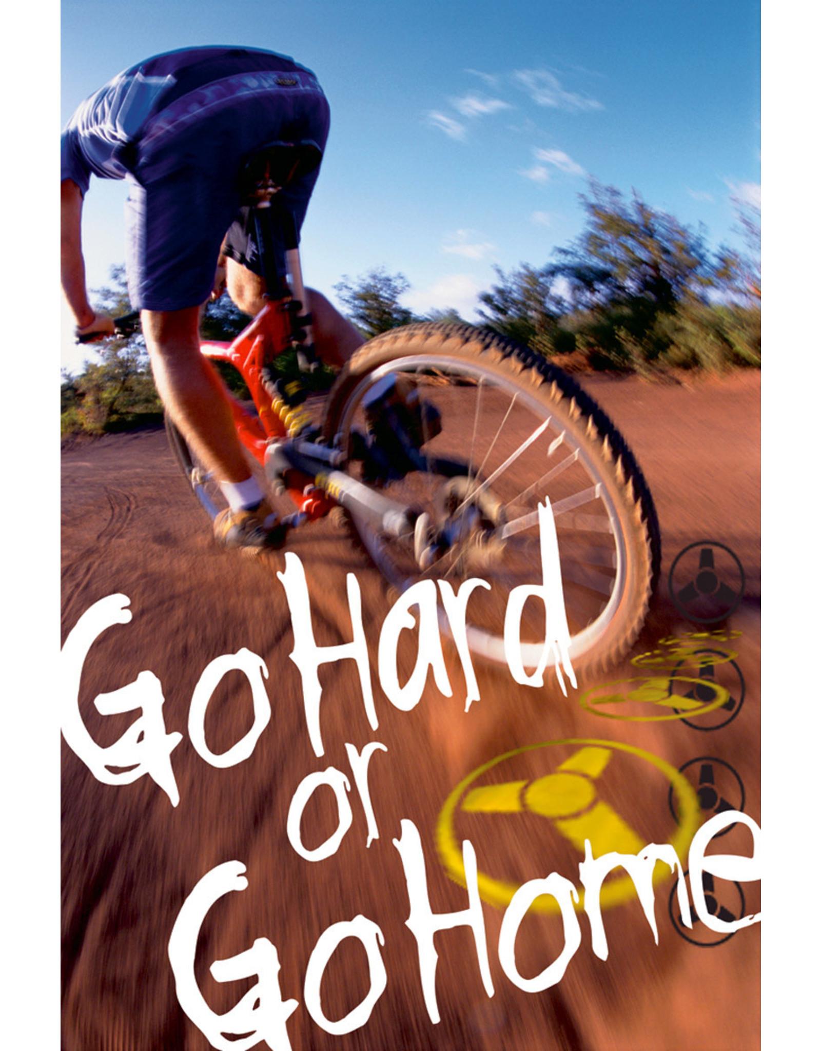 Eurographics Bike Hard or Go Home - Poster