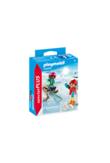 Playmobil Children with Sleigh