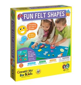 Creativity For Kids My First Fun Felt Shapes