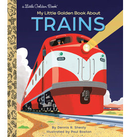 Little Golden Books My Little Golden Book About Trains