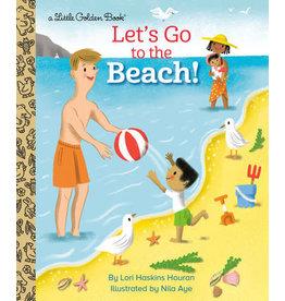 Little Golden Books Let's Go to the Beach! Little Golden Book