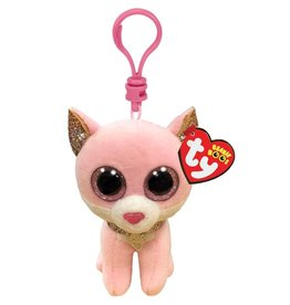 Ty Fiona - Pink Cat Clip