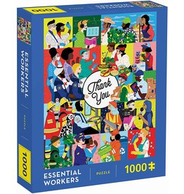Chronicle Books Essential Workers 1000 pc Puzzle