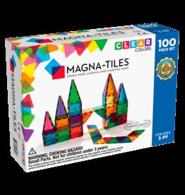 Magna-Tiles Magna-Tiles Clear Colors 100 pc