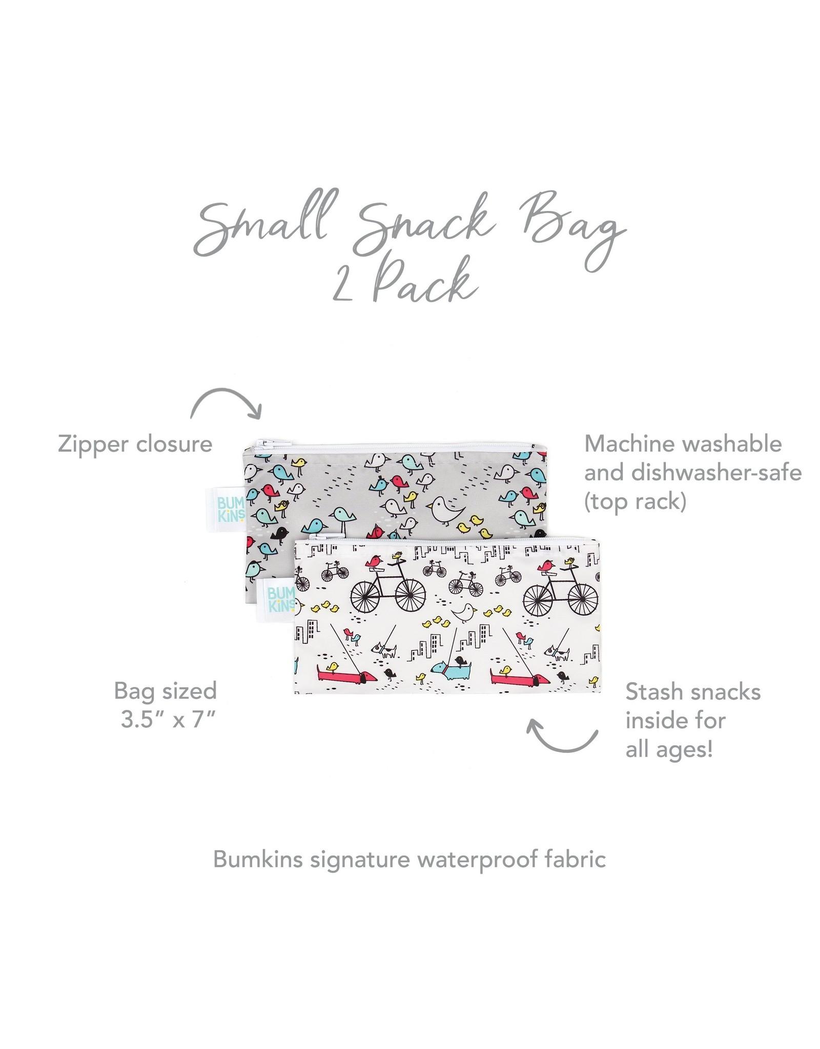 Bumkins Bumkins Snack Bag 2 Pack: Bird Park & Urban Bird