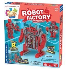 Thames & Kosmos Kids First Robot Factory: Wacky, Misfit, Rogue Robots