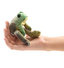 Folkmanis Folkmanis Mini Sitting Frog Finger Puppet