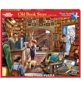 White Mountain Puzzles Old Book Store 1000 pc