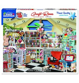 White Mountain Puzzles Craft Room - Seek & Find