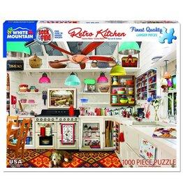 White Mountain Puzzles Retro Kitchen - Seek & Find 1000 pc