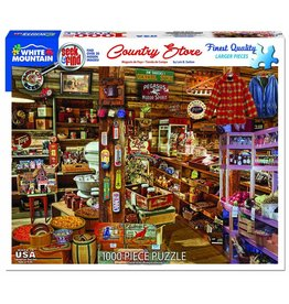 White Mountain Puzzles Country Store - Seek & Find 1000 pc