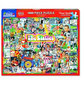 White Mountain Puzzles The Sixties 1000 pc