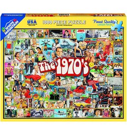 White Mountain Puzzles The Seventies 1000 pc
