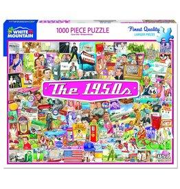 White Mountain Puzzles The 1950's 1000 pc