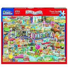 White Mountain Puzzles Iconic America 1000 pc