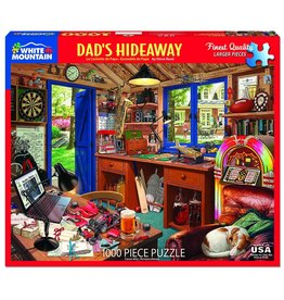 White Mountain Puzzles Dad's Hideaway 1000 pc