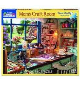 White Mountain Puzzles Mom's Craft Room 1000 pc