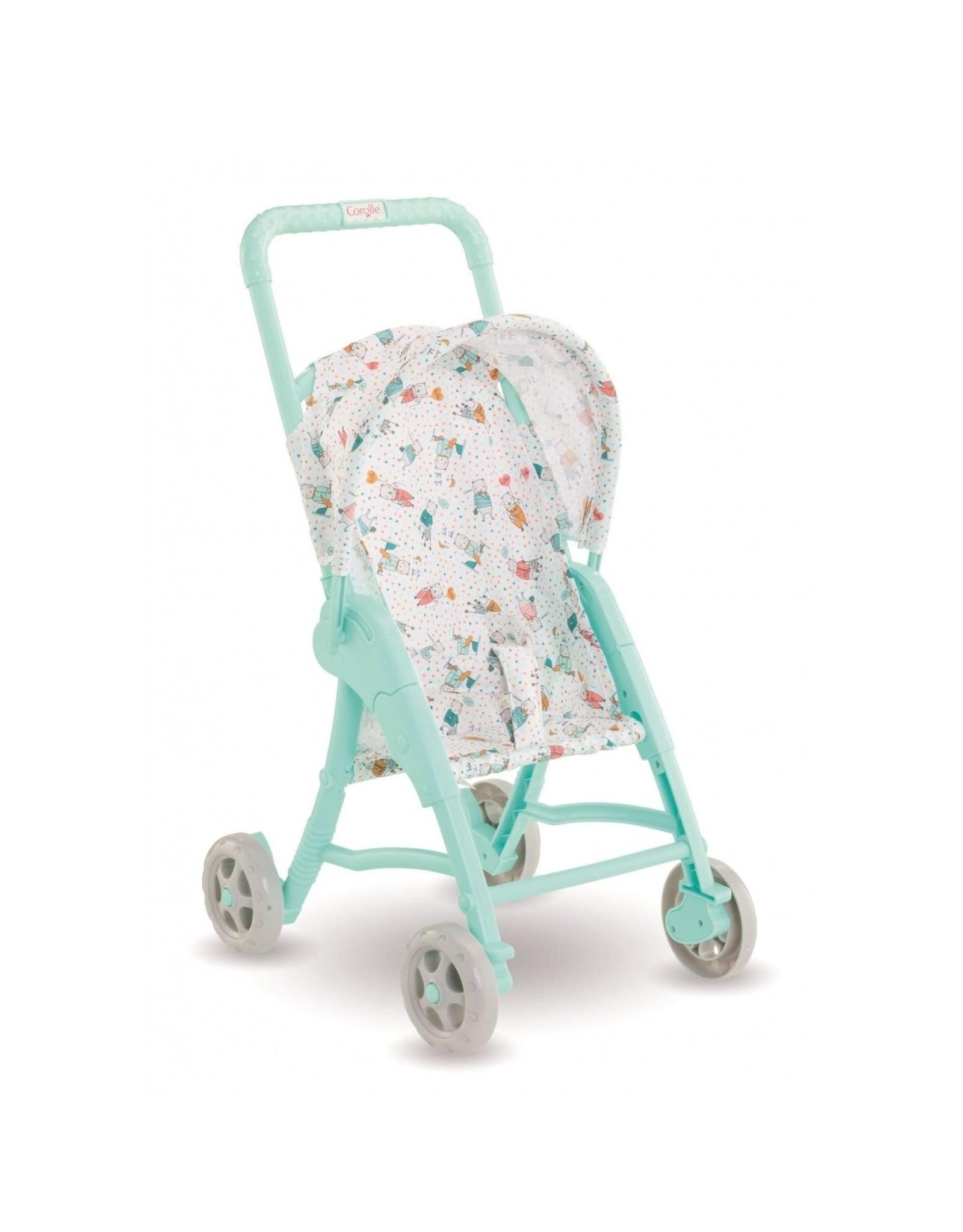 """Corolle Corolle 12"""" Doll Stroller - Mint"""