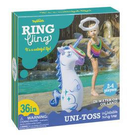 Toysmith Ring Fling Uni-Toss