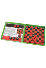 Play Monster Checkers Magnetic Game Tin