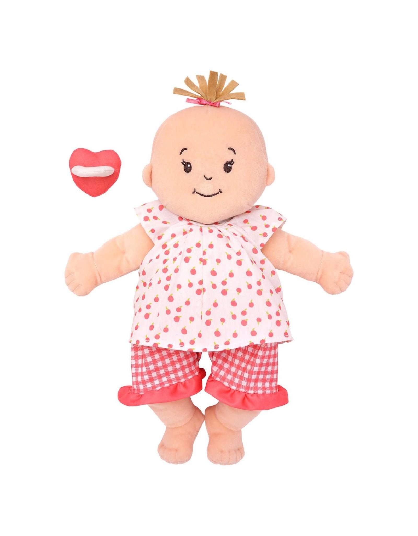 Baby Stella Baby Stella Peach with Light Brown Hair
