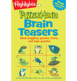 Highlights Highlights Puzzlemania Brain Teasers