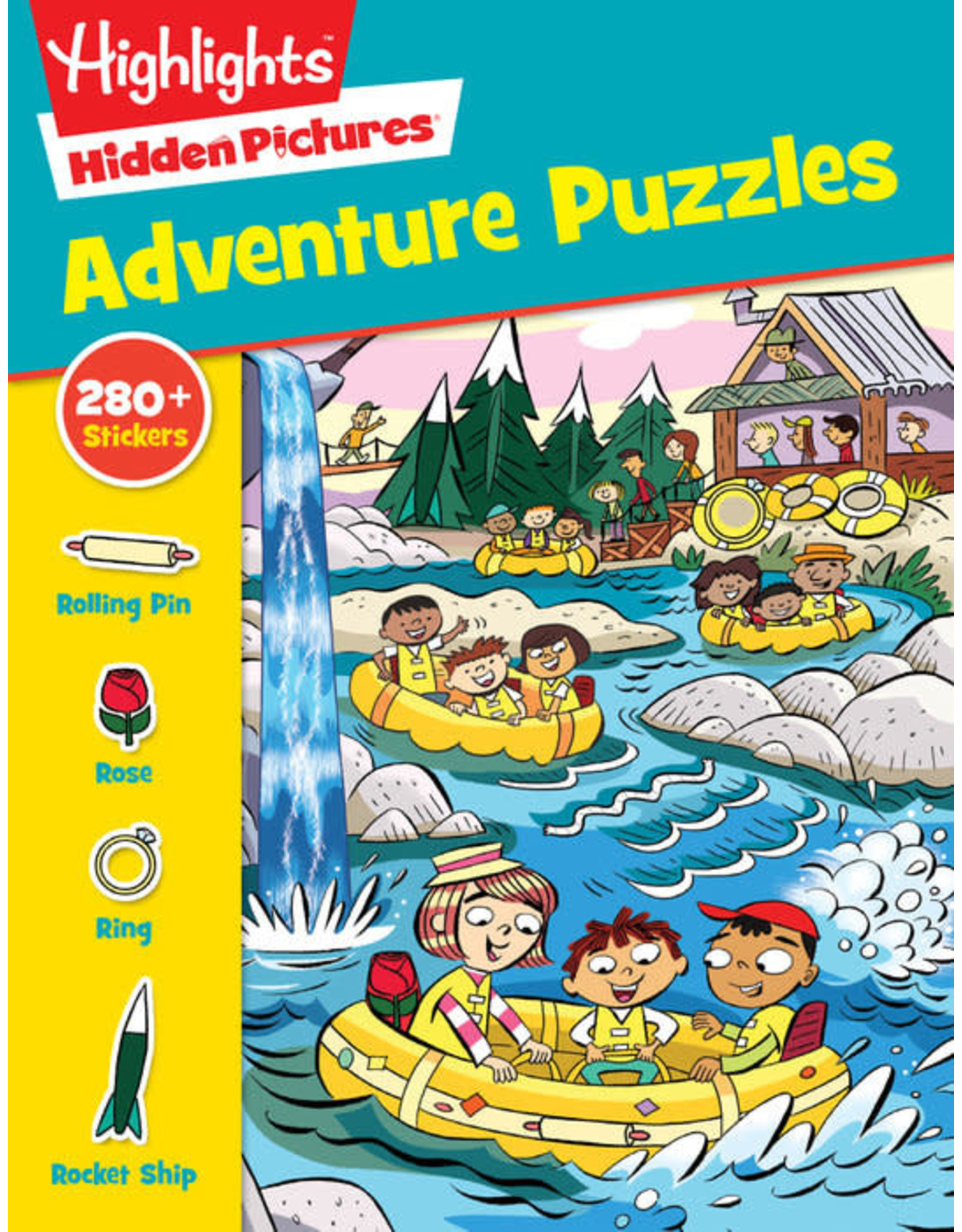 Highlights Highlights Hidden Pictures Adventure Puzzles