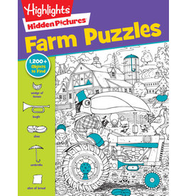 Highlights Highlights Hidden Pictures Farm Puzzles