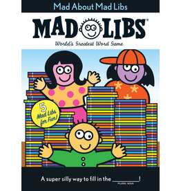 Mad Libs Mad About Mad Libs