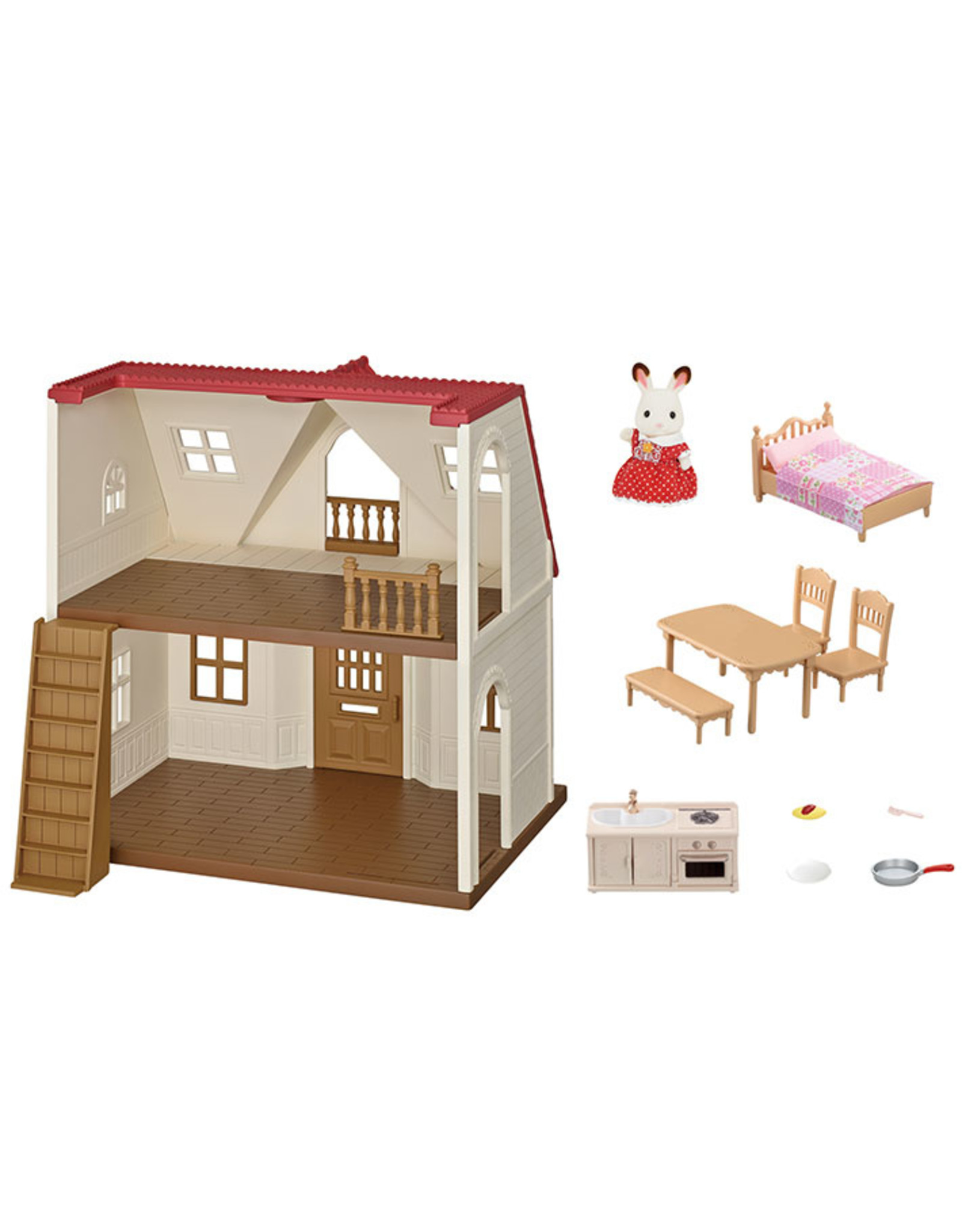 Calico Critters Calico Critters Red Roof Cozy Cottage
