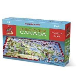 Crocodile Creek Discover Canada 100 pc Floor Puzzle