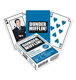 The Office - Dunder Mifflin Swag Playing Cards