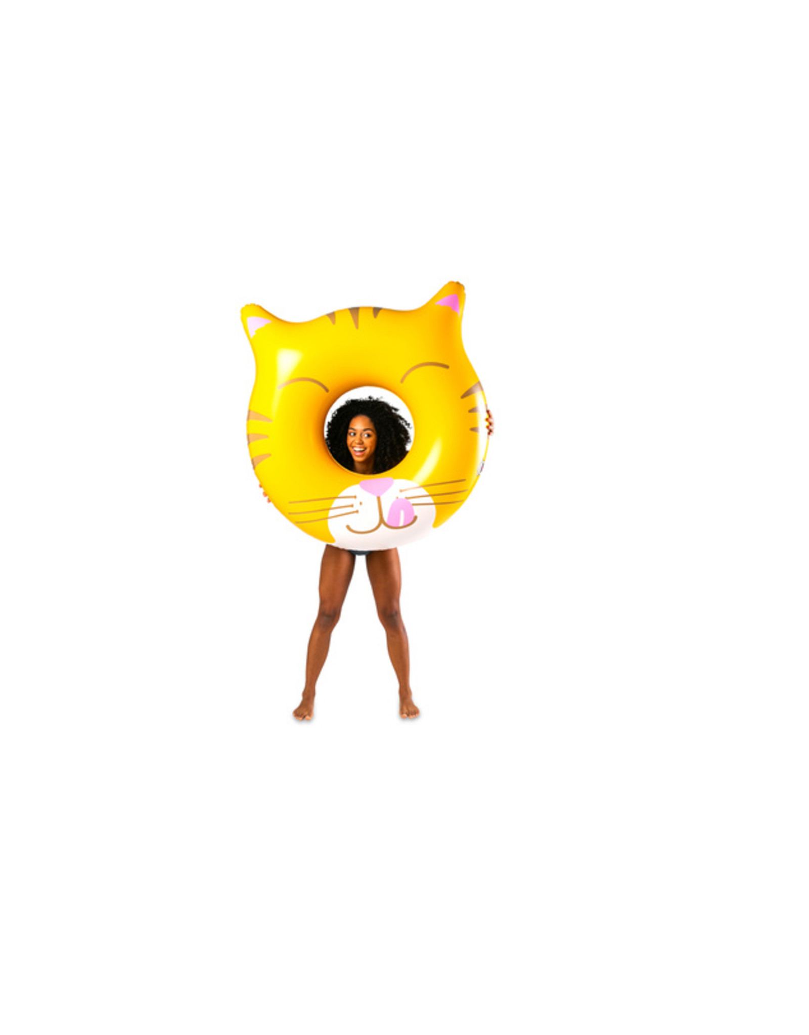 Big Mouth Toys Cat Face Pool Float