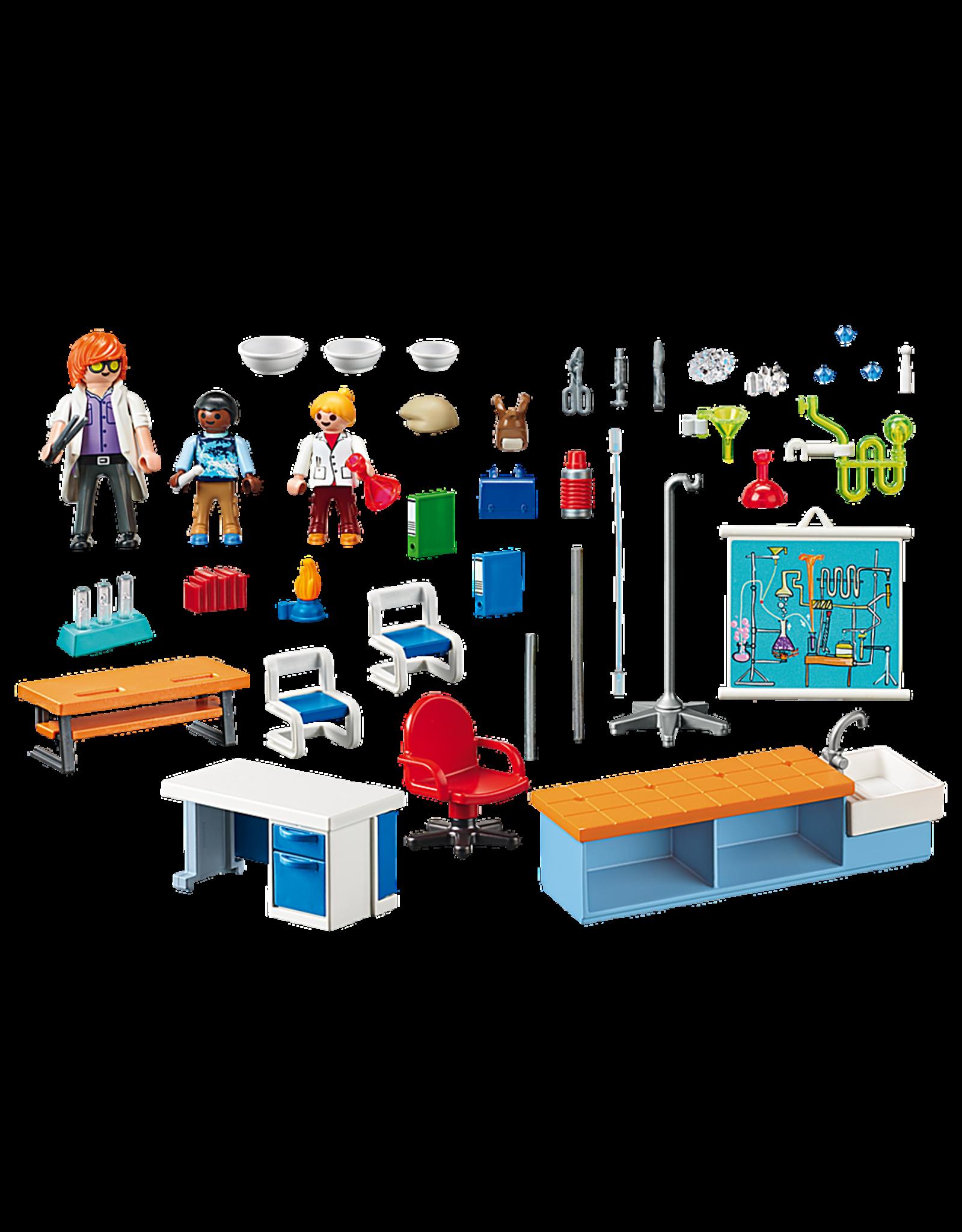 Playmobil Chemistry Class