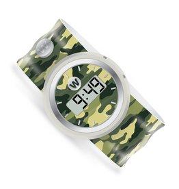 Watchitude Watchitude Army Camo Digital Slap Watch