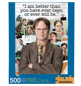 The Office Dwight Schrute Quote 500 pc