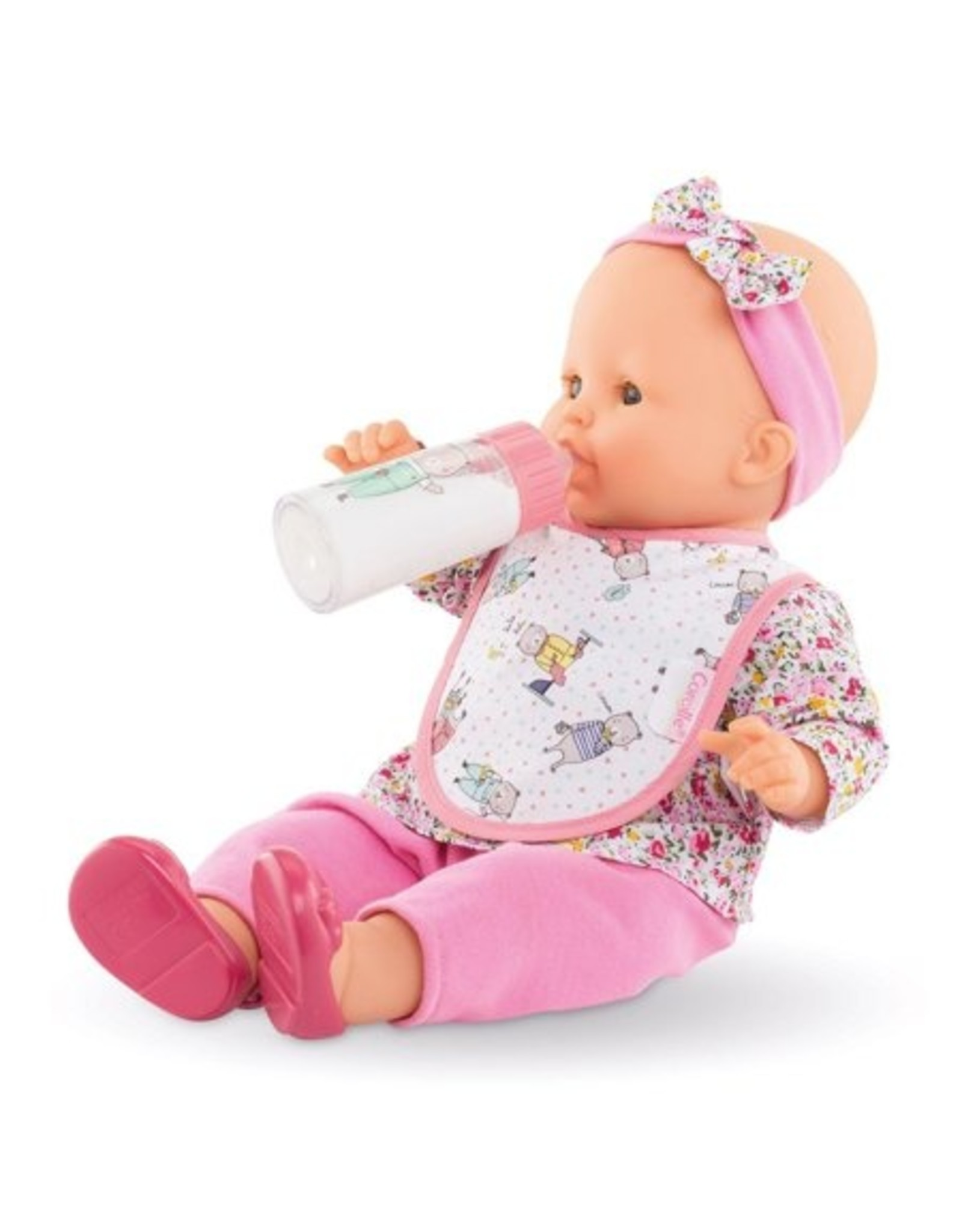 Corolle Corolle Bib & Magic Milk Bottle