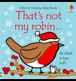 Usborne That's Not My Robin…