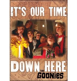 Goonies It's Our Time Down Here Flat Magnet