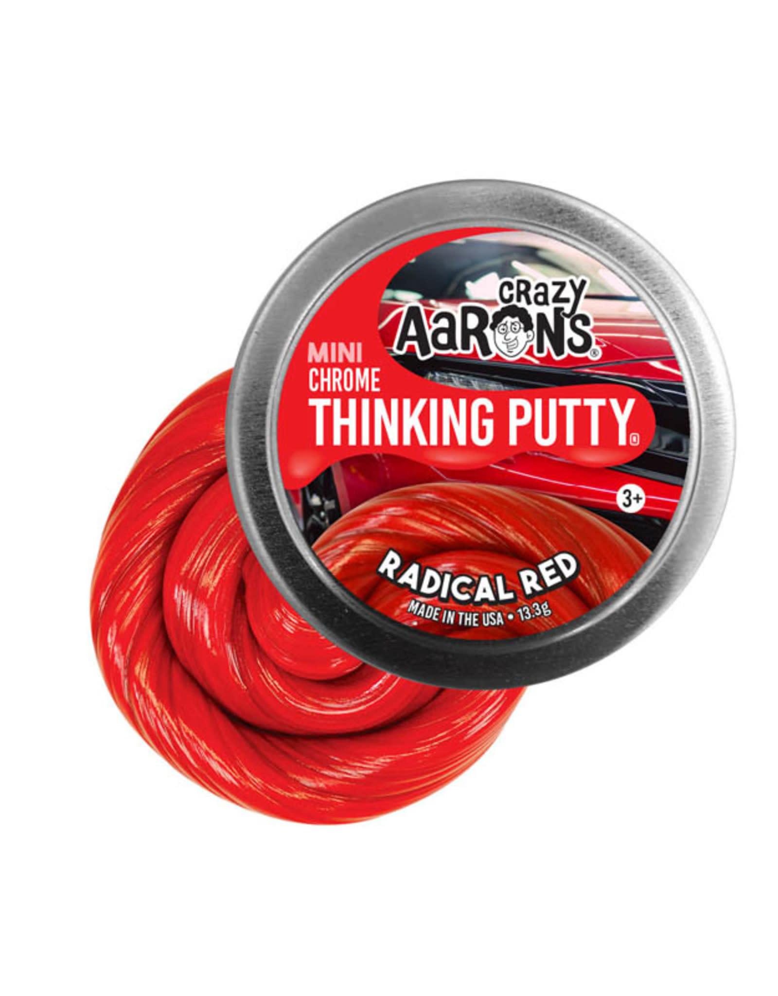 Crazy Aaron's Crazy Aaron's Small Tin - Radical Red
