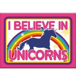 Unicorns - I Believe in Unicorns Flat Magnet