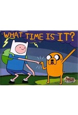 Adventure Time What Time Is It? Flat Magnet
